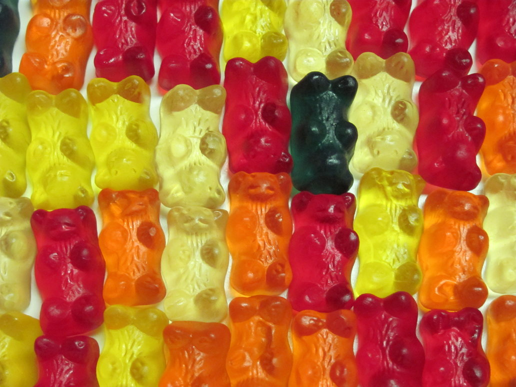 Gummy Bear Modern Art by Ashton18