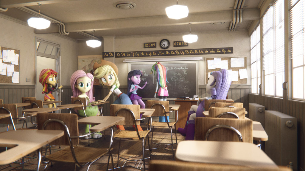equestria girls   classmates by varcon-d