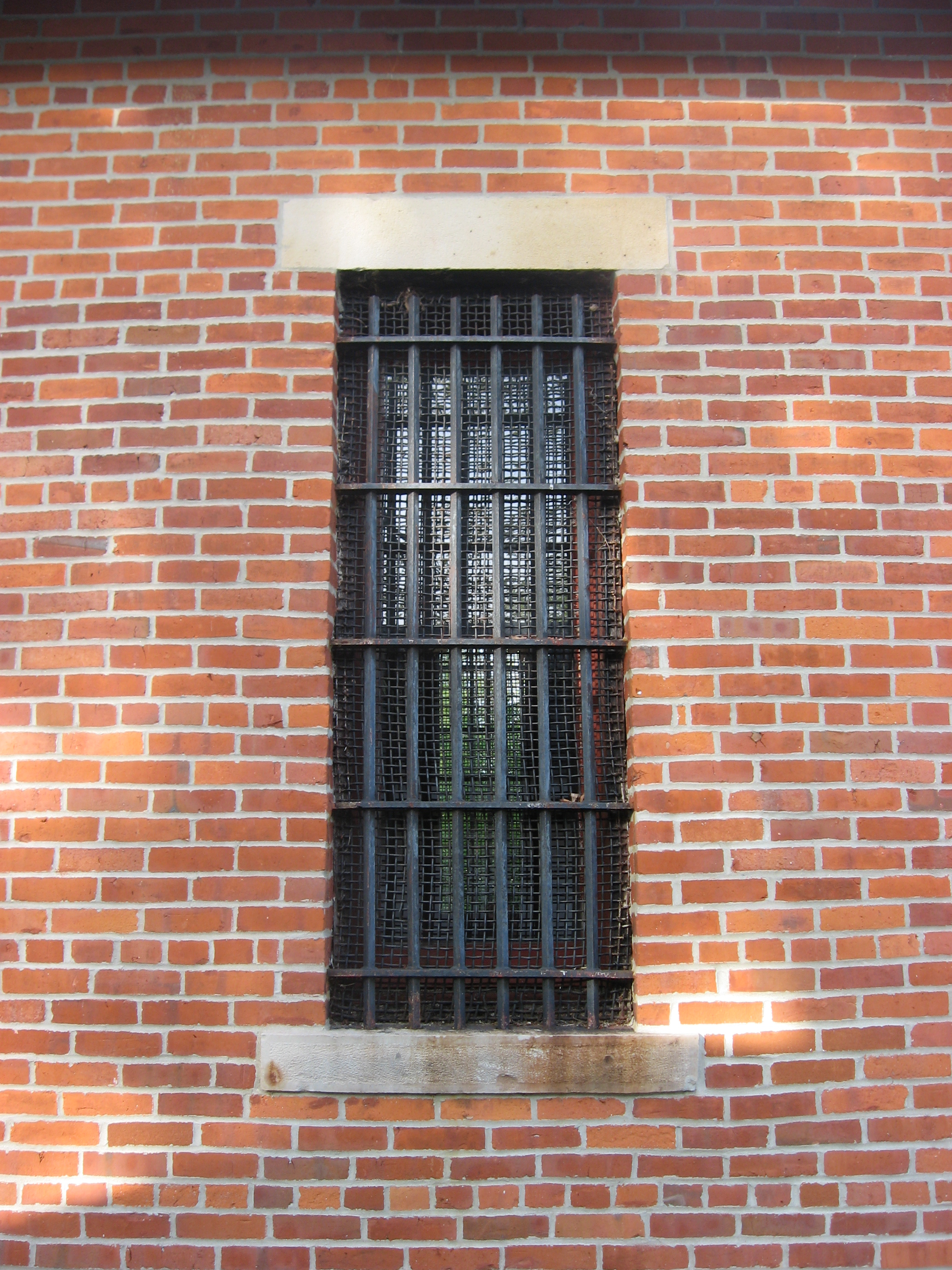 Johnstown Jail window