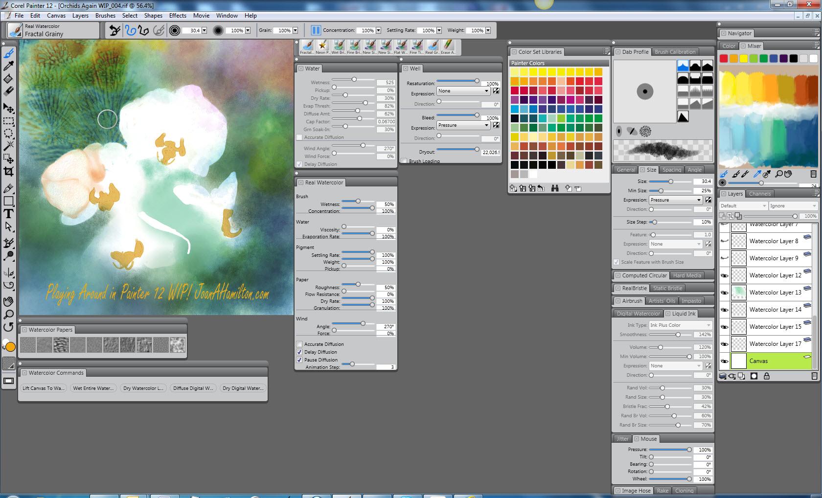 LetitBit.net (одним файлом на высокой скорости). Corel Painter 12.1.0