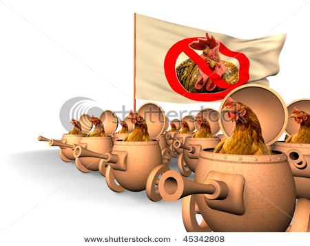 tETdGp1 stock-photo-chauvinism-chicken-in-tanks-