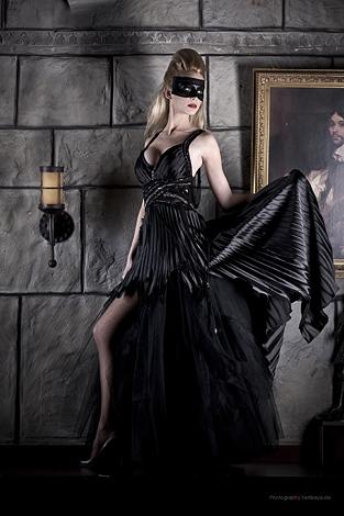tIQWBOA gothic brautkleid