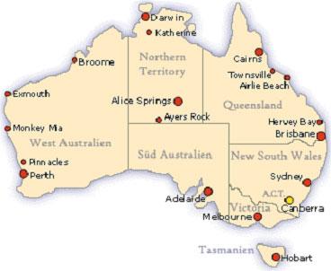 australien flughafen