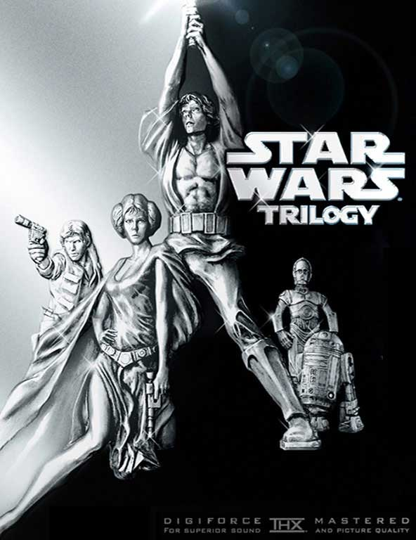 tM144No Star wars dvd cover