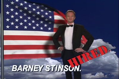tN68T0H barney stinson hired This post is Legen