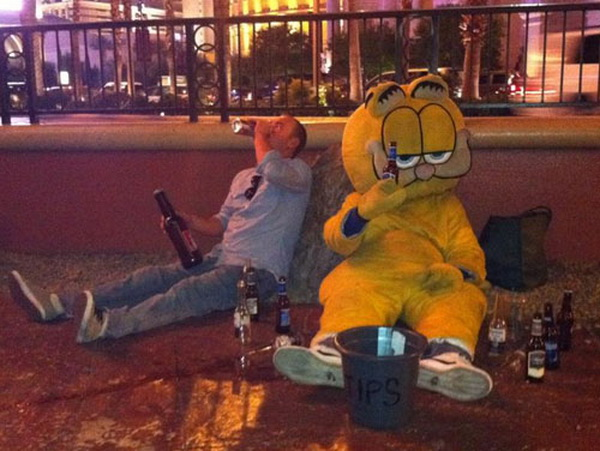 tNZVhUr Drunk-Garfield
