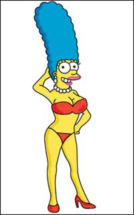 Marge simpson riding himer - Marge des cuisinistes ...