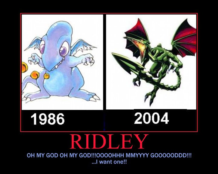 tSQEHkI Metroid  s Ridley  then and now by ruste