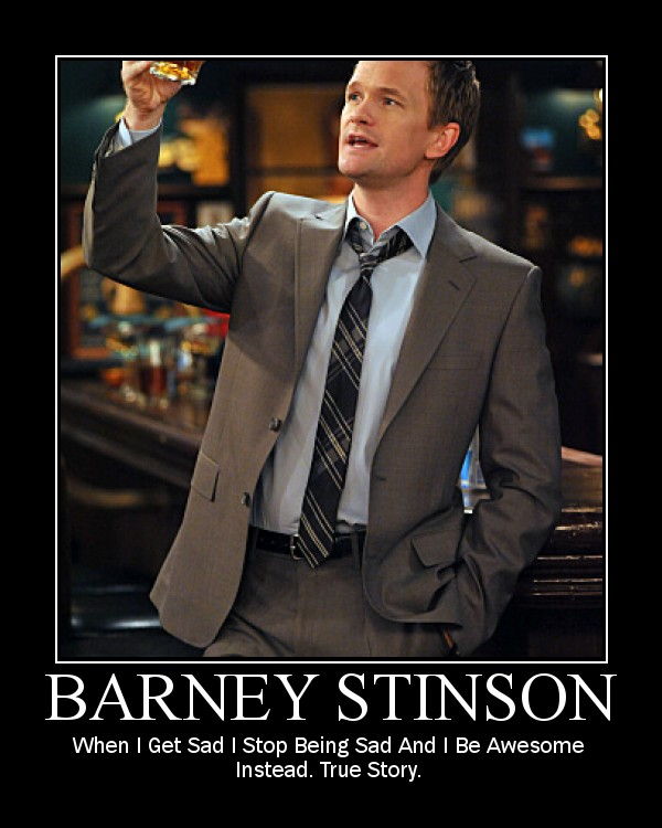 tVXAJDw Barney Stinson by matt bellamy fan