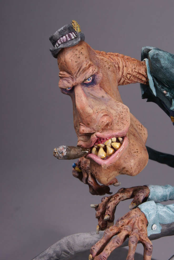 tYDcIrK Piano Manster  face detail  by DoctorRat