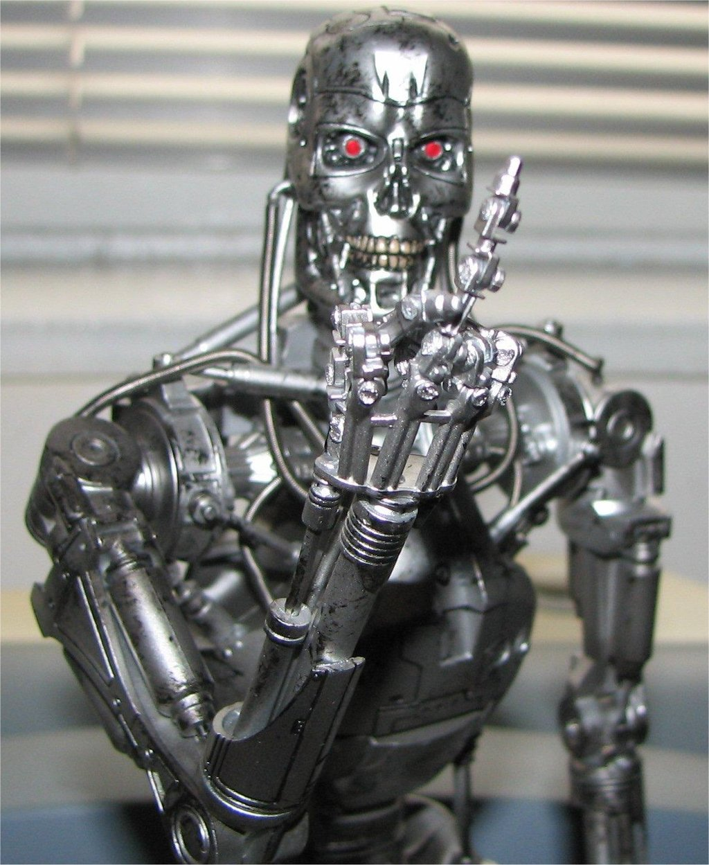 terminator endoskeleton finger by jkno4u