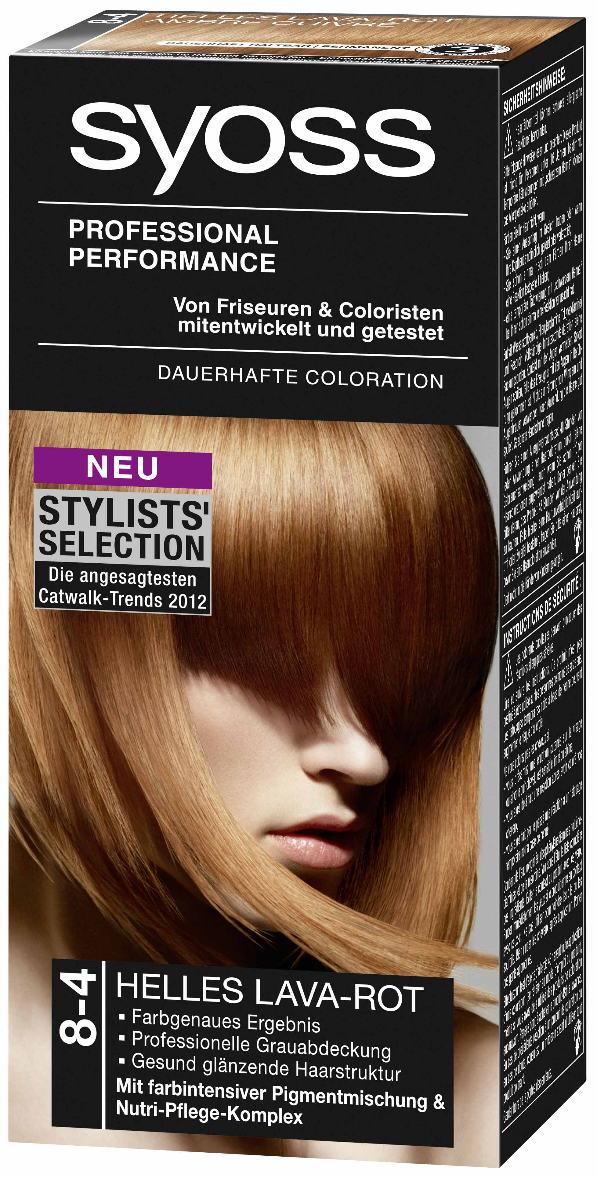 Syoss Stylists Selection Helles LavaRot
