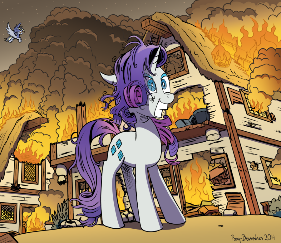 some mares just want to watch the world