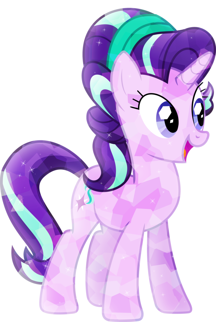 crystallized starlight glimmer by xebck-