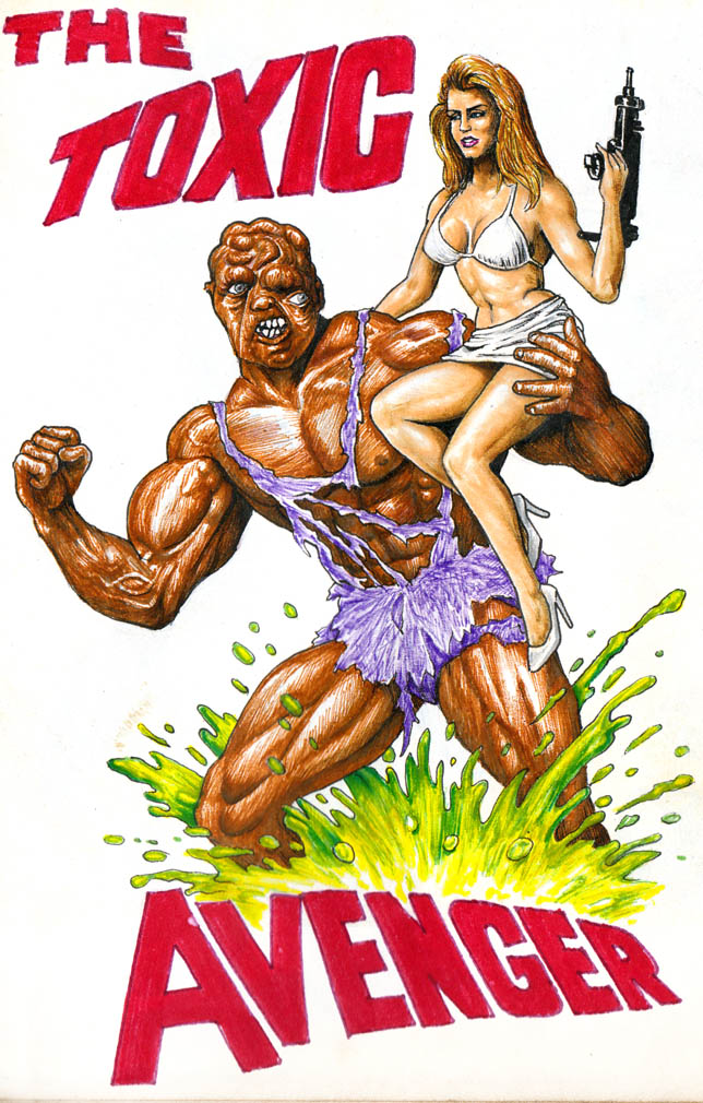 Toxic Avenger by WarnerC