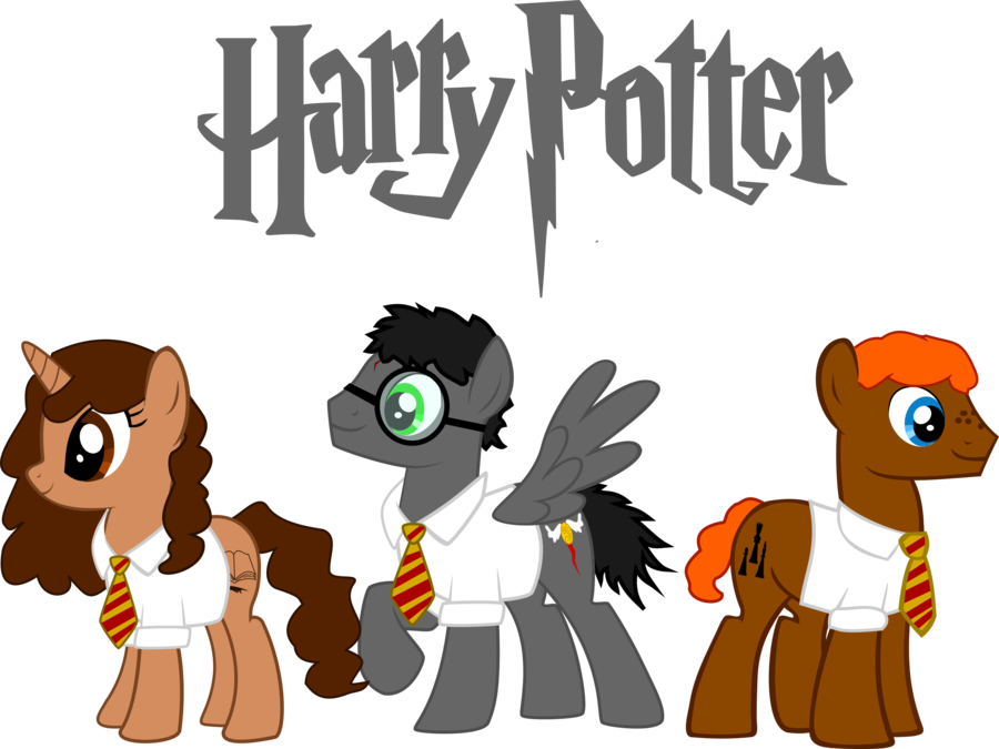 harry potter ponified by asdflove-d56ccn
