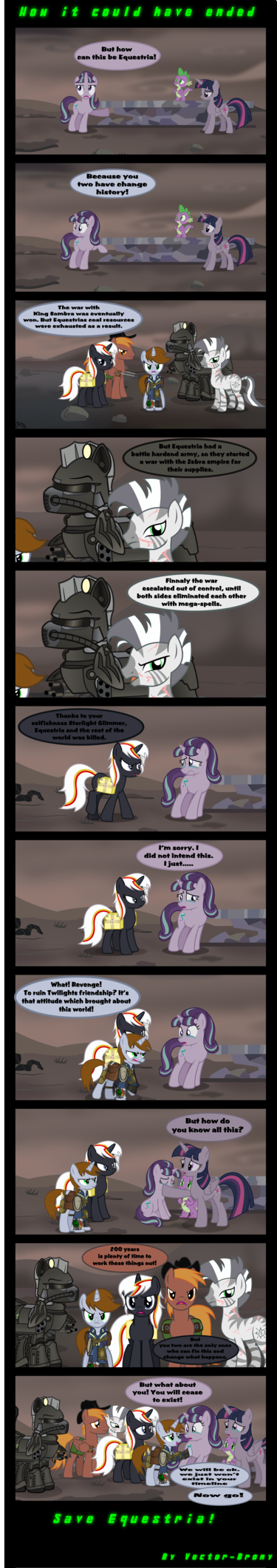 how it should have ended by vector brony