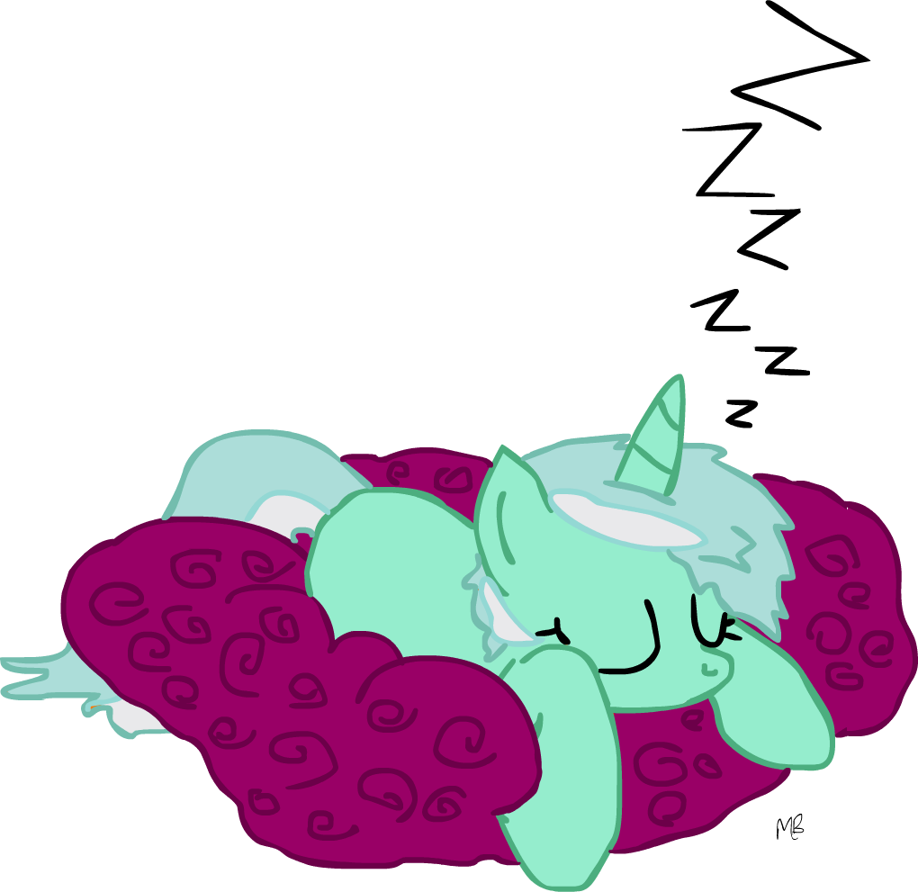 lyra sleeping