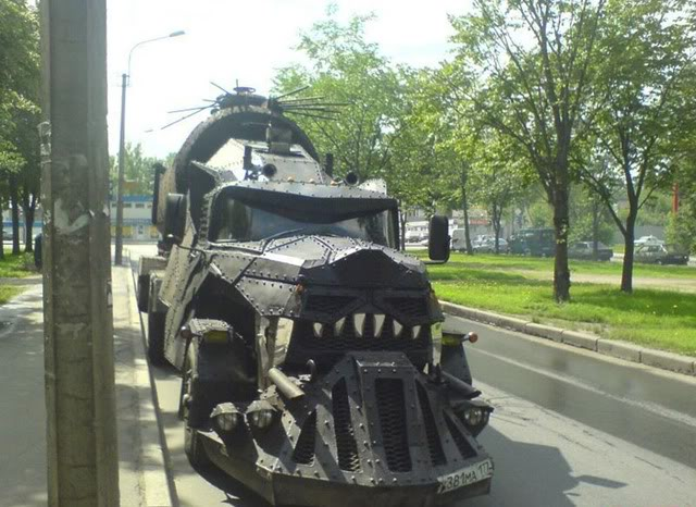 monster truck russia