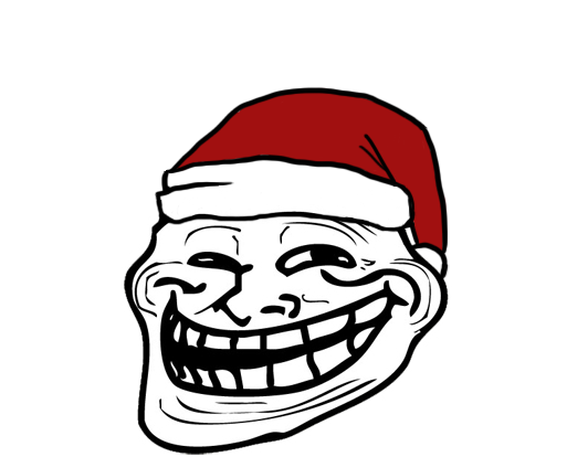 christmas troll face by w4terboy-d4iega8