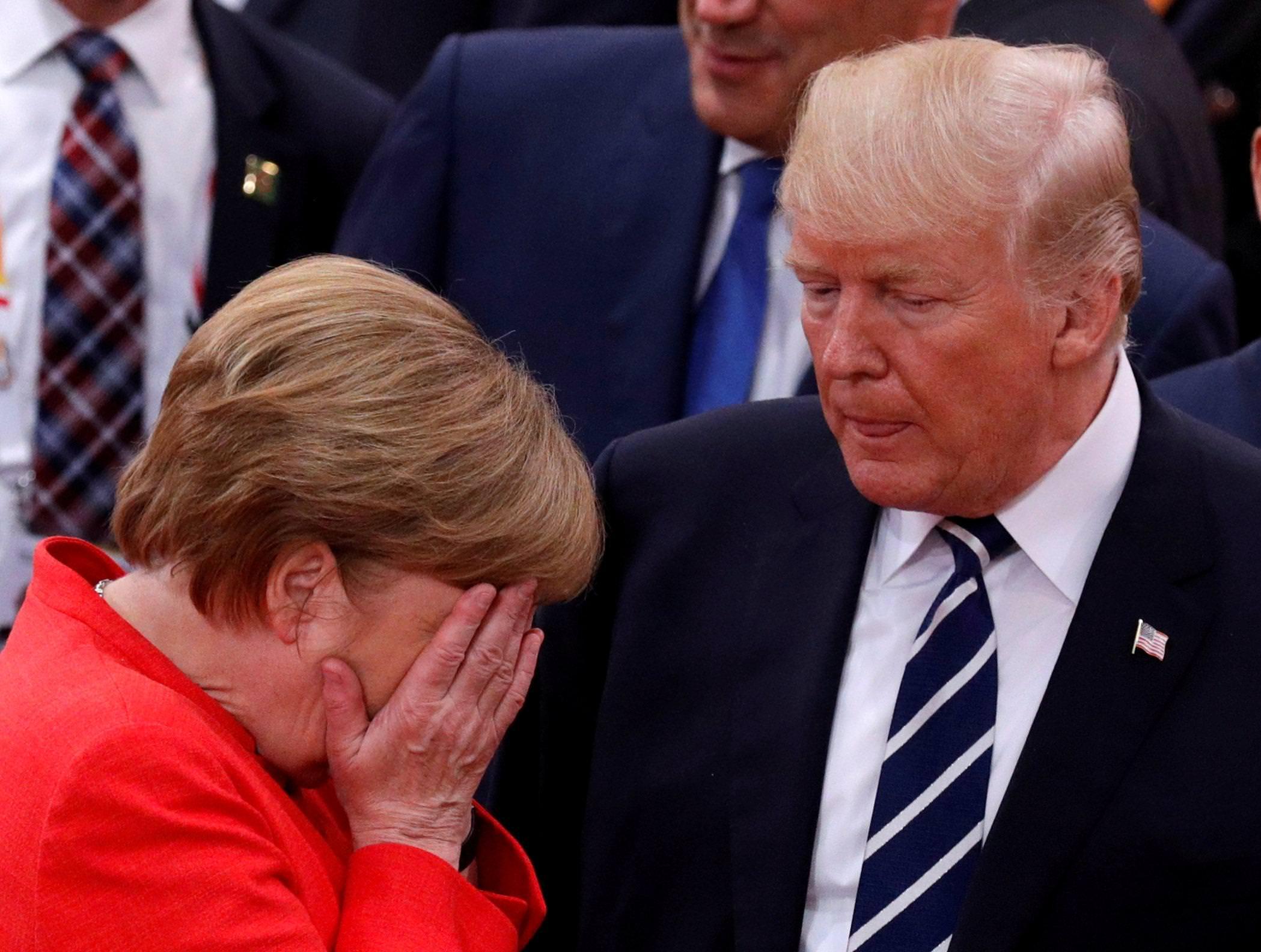 Merkel Witzig