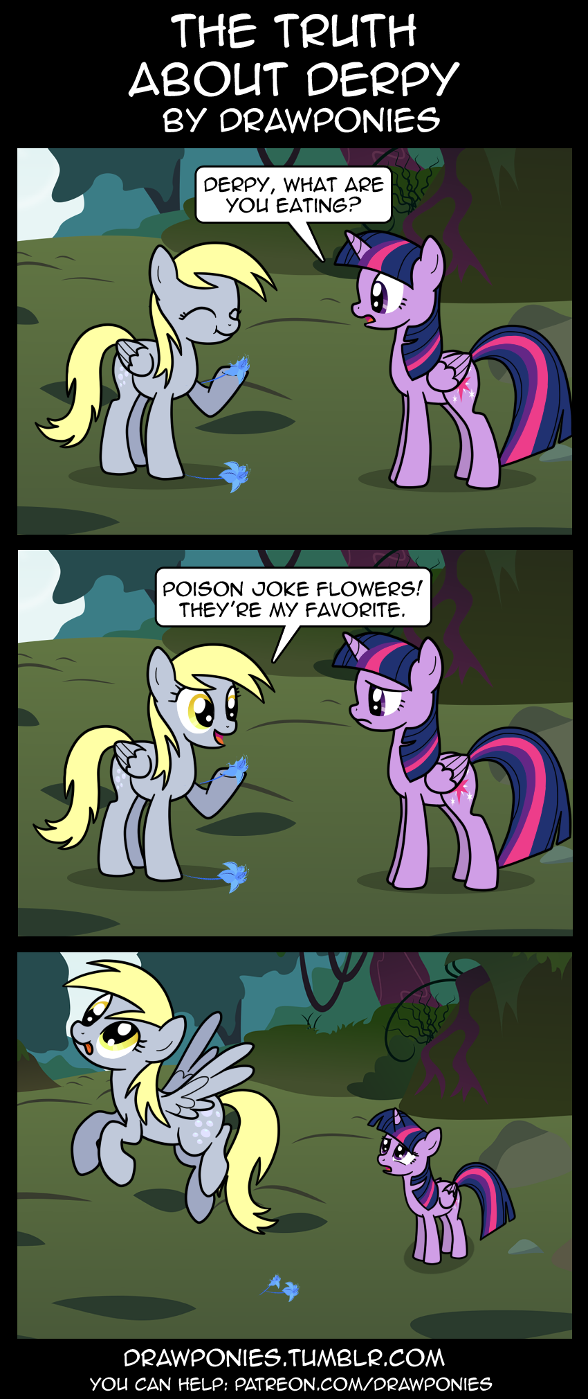 the truth about derpy by drawponies-d8cx