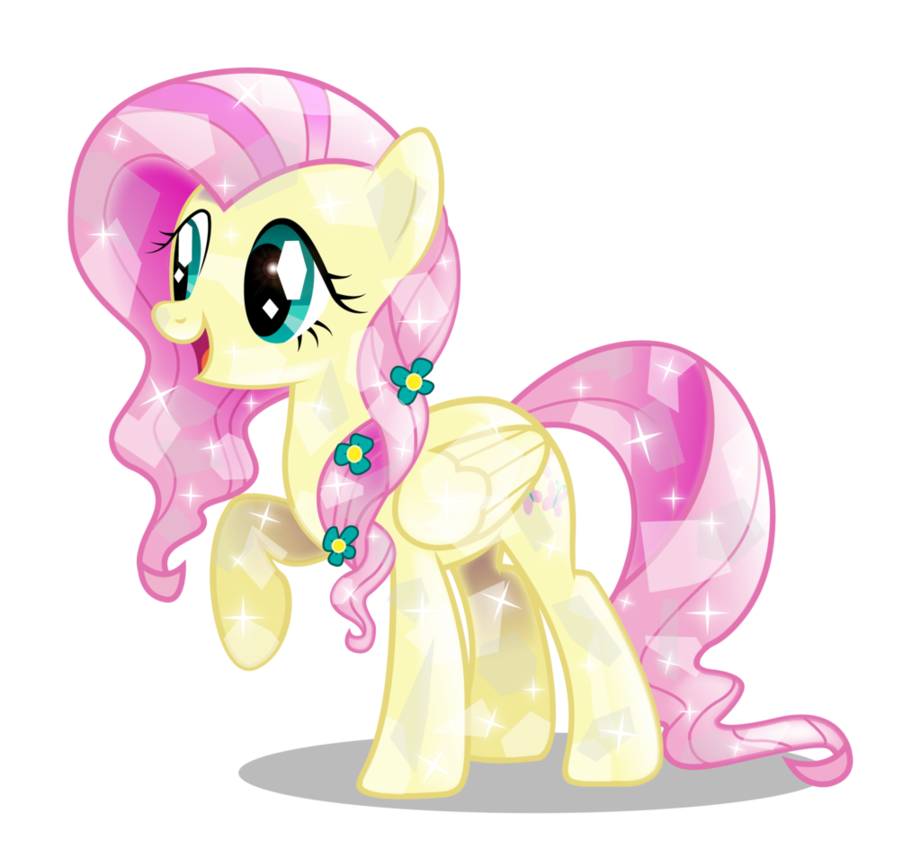crystal fluttershy  2nd edition  by infi