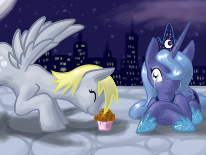 muffins my little pony derpy hooves prin