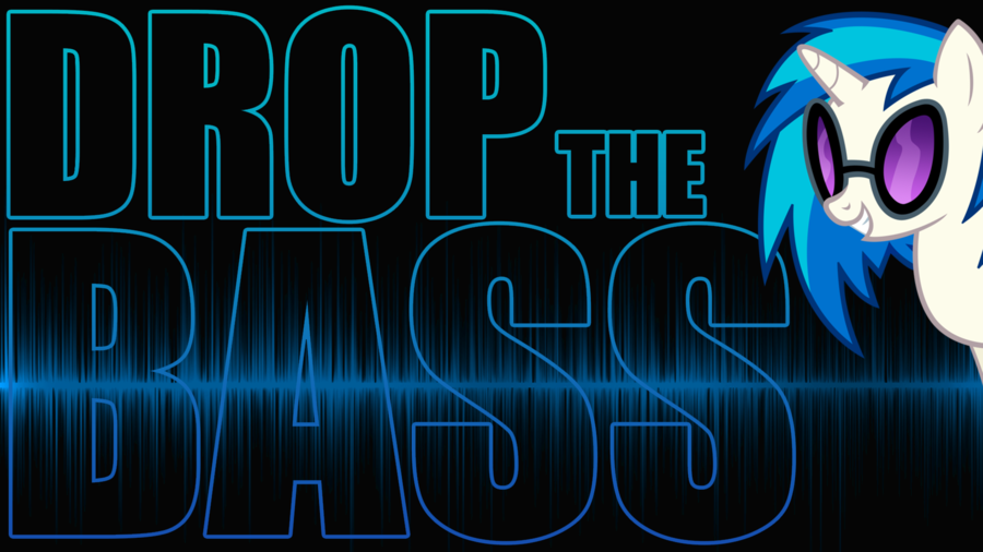 drop the bass  vinyl scratch  by halothe