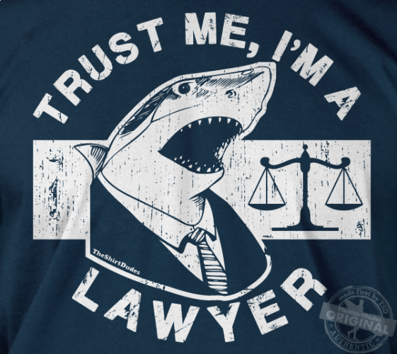 trust me i m a lawyer great white shark