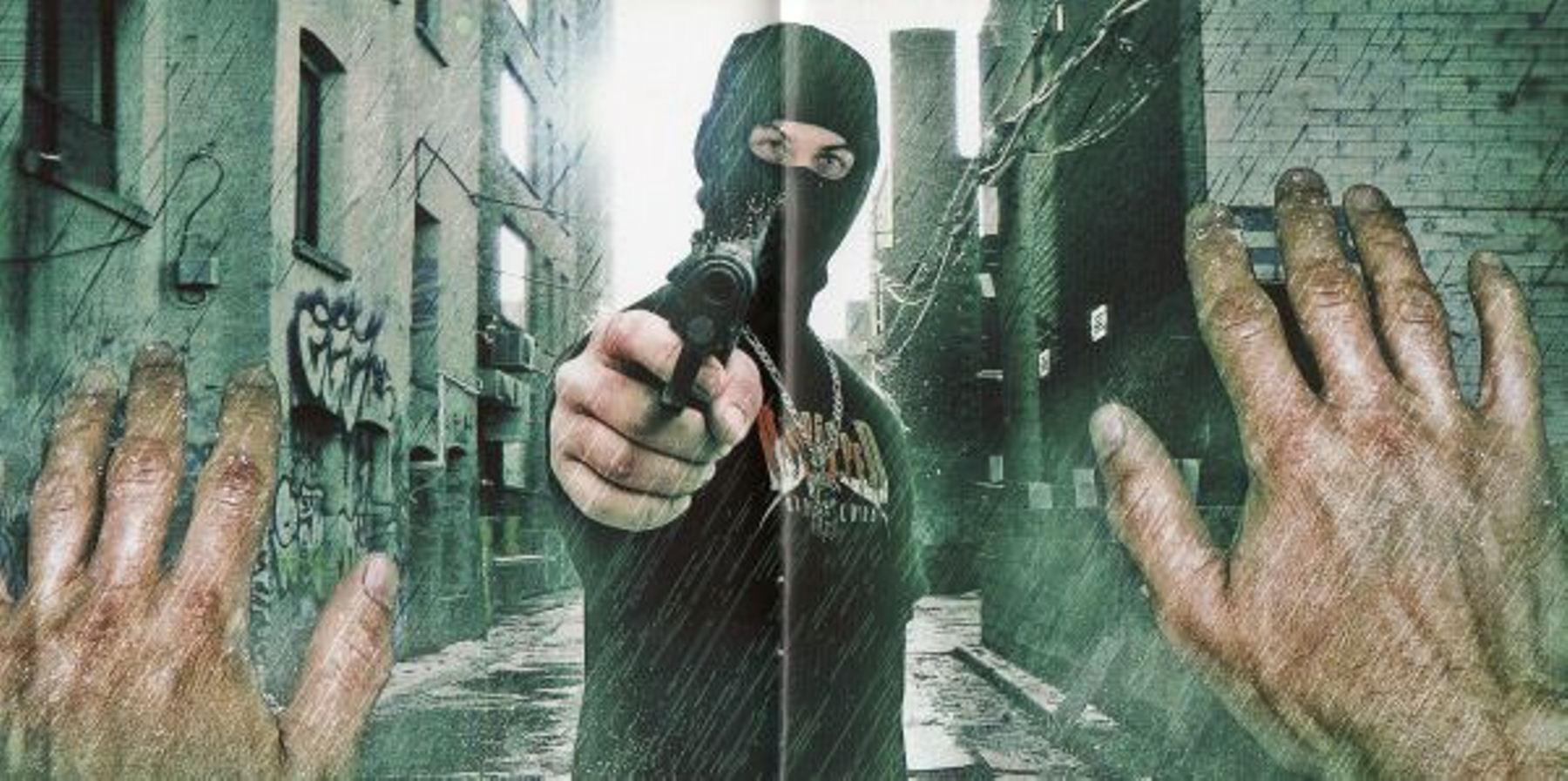 blokkmonsta mit der maske