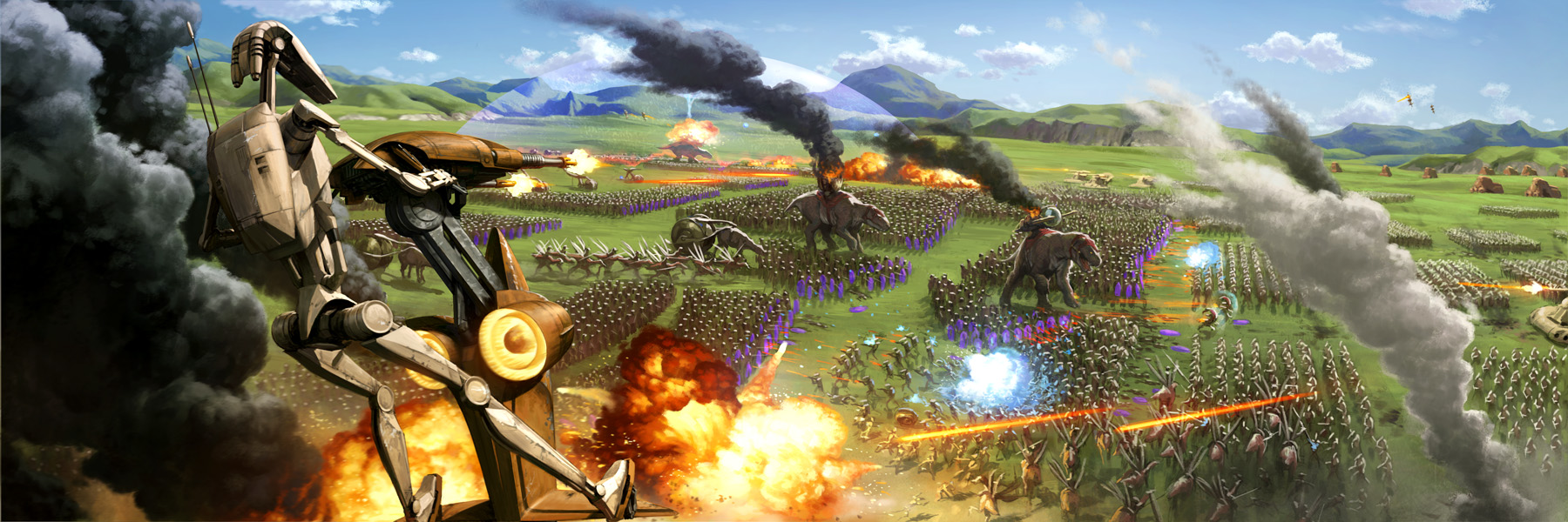 battle of the great grass plains by wrai