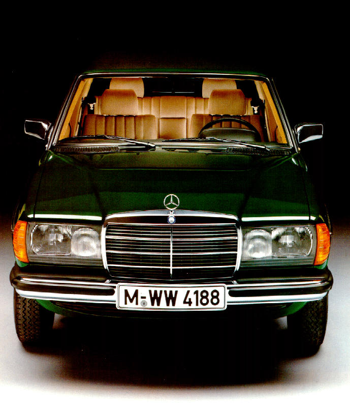 w123 front