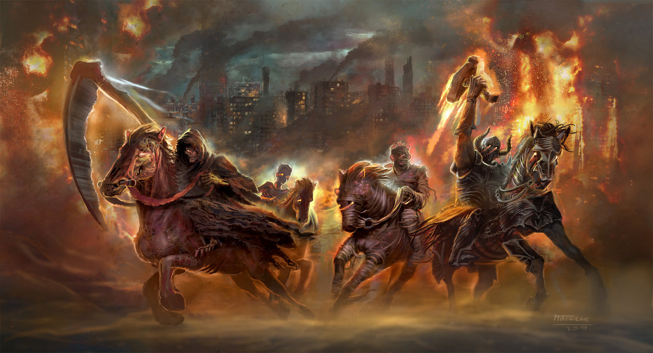 four horsemen of the apocalypse by match