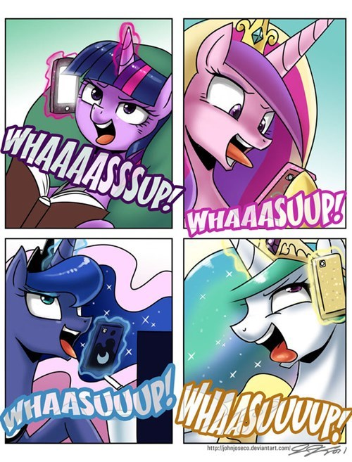 mlp wassup  by kittycat17623795-d8m8mzr