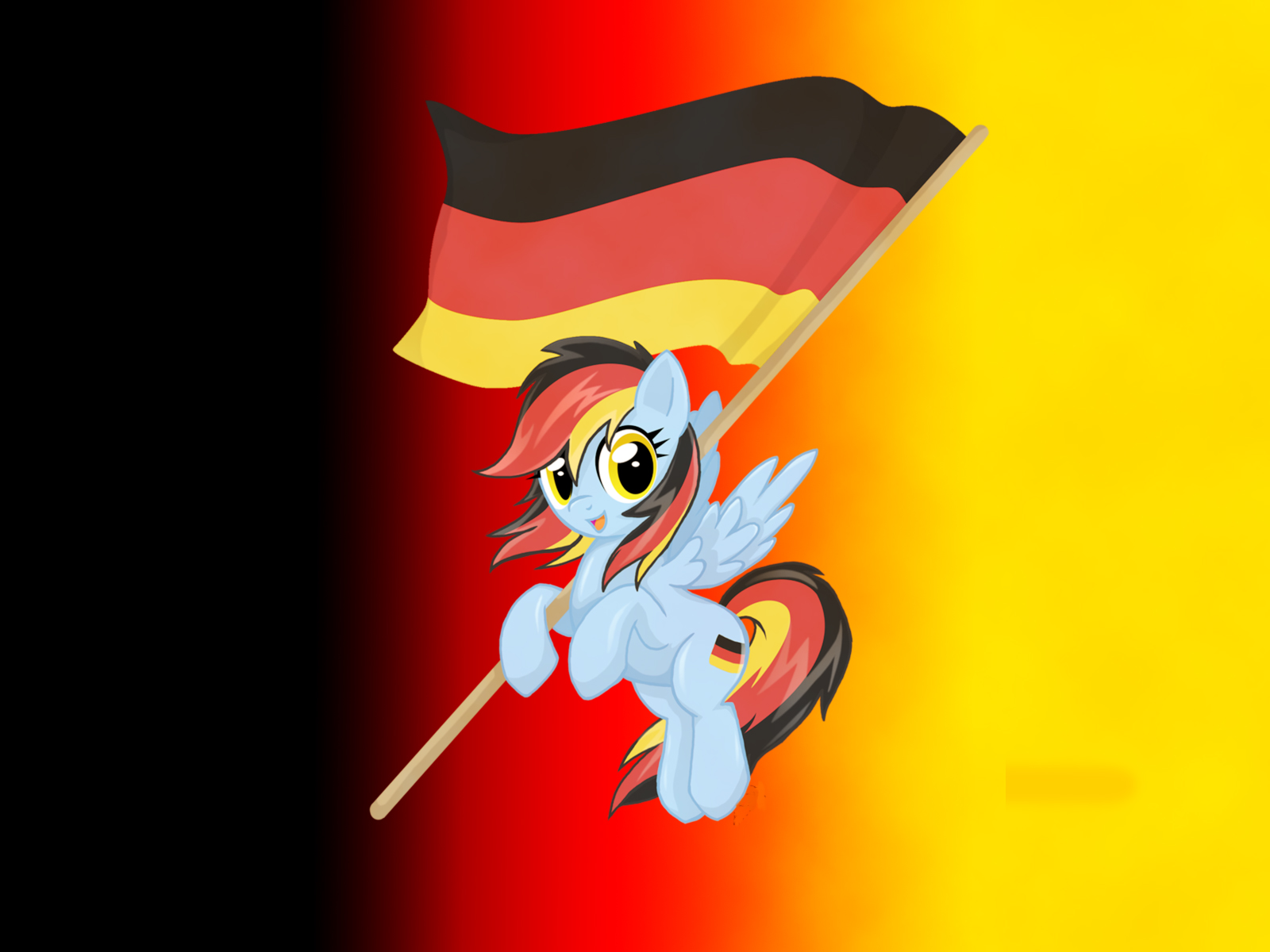 german rainbow dash wallpaper by mylittl