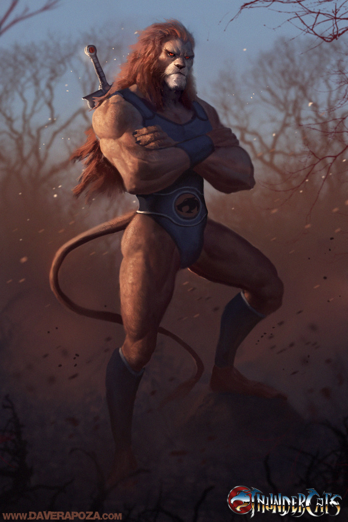 Lion-O Full Body Dave Rapoza