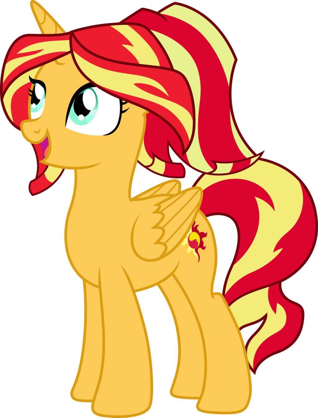 princess sunset shimmer by theshadowston