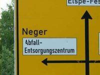 Schwarzer Humor Neger