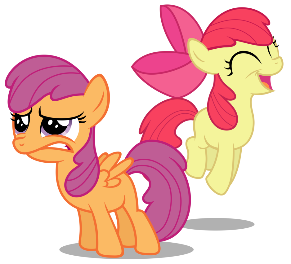 scootaloo bloomified by austiniousi-d5sb