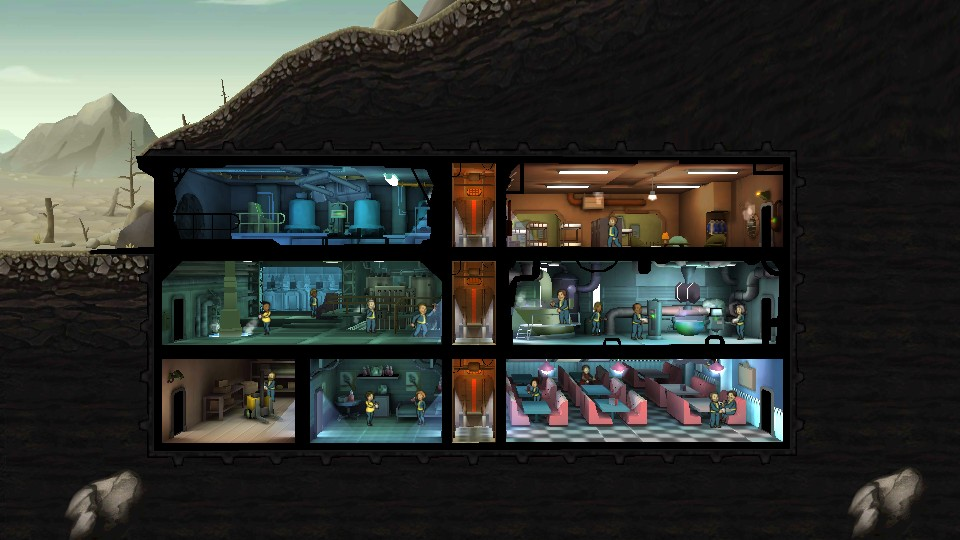 Fallout Shelter Screen Shot