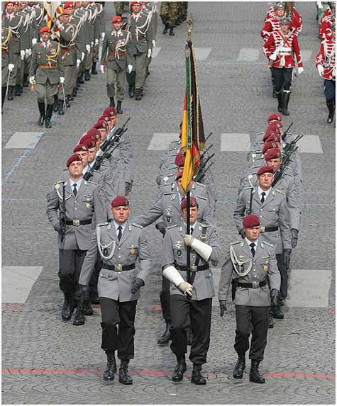 Paradeuniform Bundeswehr