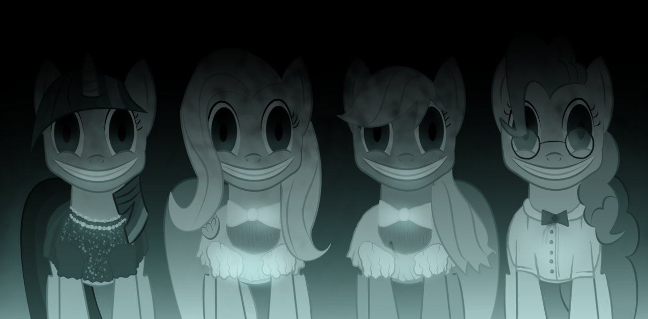insidious ponies by super zombie-d5bhrs7