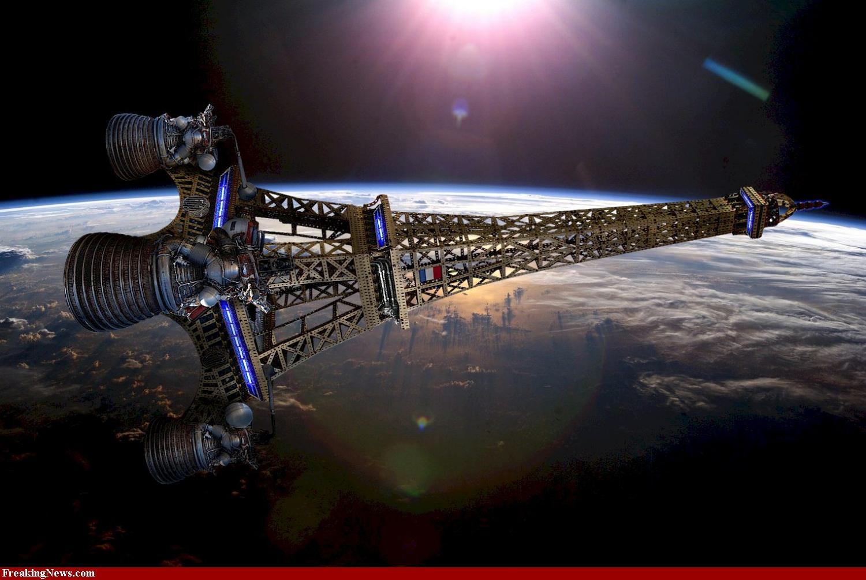 ESA - Das neue Orion-Raumschiff der NASA mit dem ESM-Modul
