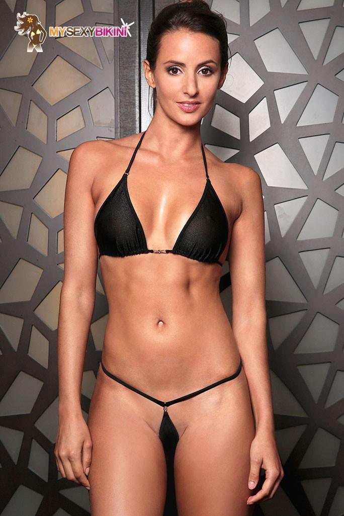 string bikini schwimmbad analketten