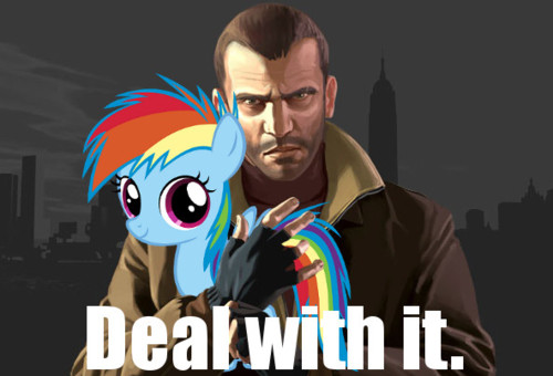 niko bellic deal with it by pewdiedash-d