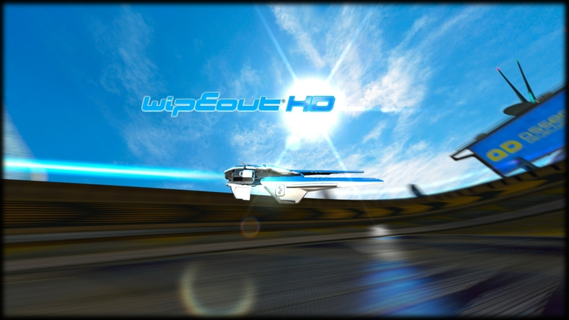 video games futuristic wipeout science f
