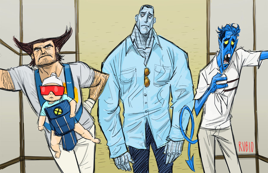 a very x men hangover by barrypresh-d3au