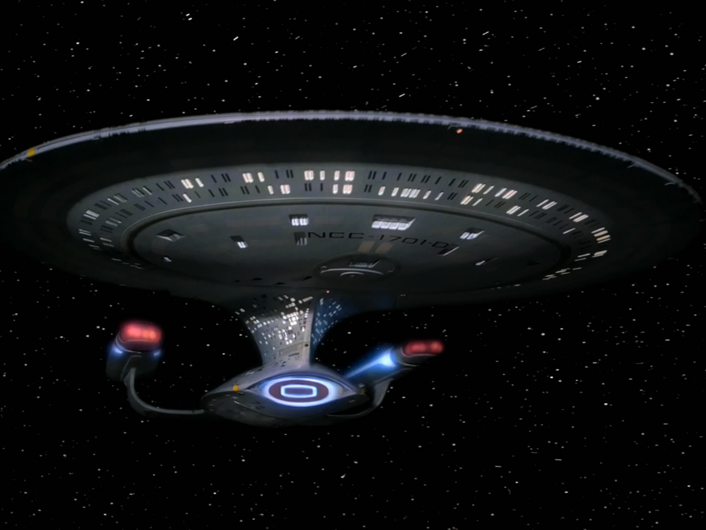 Enterprise D fore