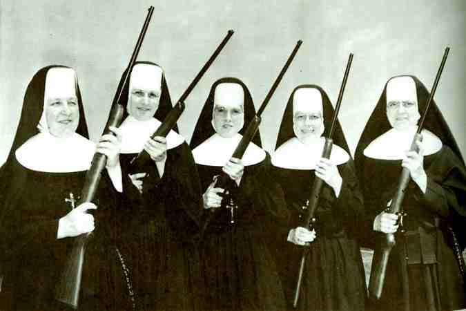 tc90St1 QSwhPs nuns with guns big